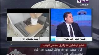 """بالفيديو.. """"زراعة النواب"""": قرار الوزراء بوقف تصدير الأرز صائب 100%"""