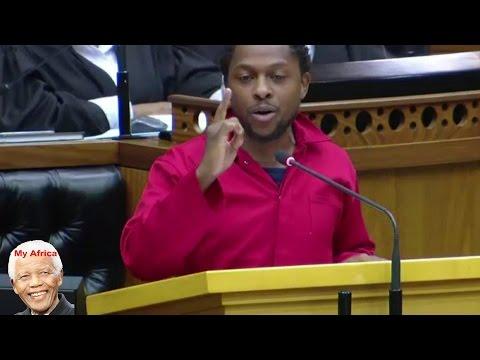 'Jacob Zuma And ANC Government Is Sick' EFF Mbuyiseni Ndlozi.
