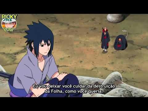 NARUTO, SAKURA E SASUKE VS SASORI - Legendado _ Naruto Usa RasenshurikeneSasuke Usa Kagutsuchi !