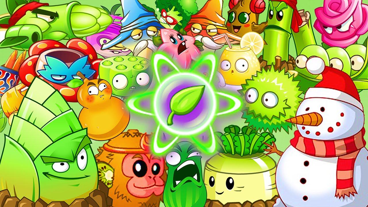 Plants Vs Zombies 2 Todas Las Plantas Con Sus Sorprendente Poderes Versión China