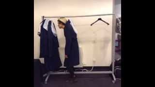 Harry Styles On A Coat Rack