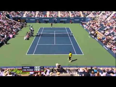 2009 US Open - Semi Final  Del Potro vs Nadal [HD] (part 2 2) - YouTube.flv