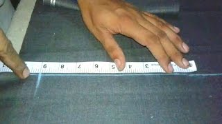 Pant marking and cutting video in hindi