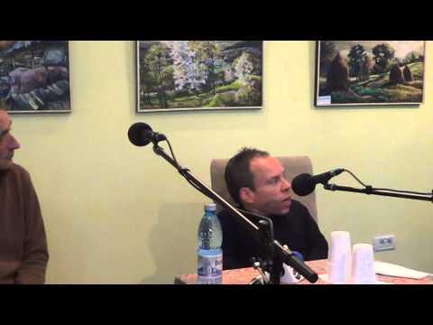 Conferinta de presa cu actorul Davis Warwick la Sala Radio Sighet (17.10.2012)
