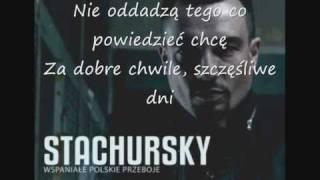 Stachursky - Dla Was (txt)