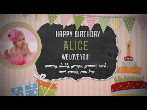 happy-birthday-baby-photo-album---girl-version---after-effects-royalty-free-template