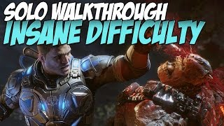 gears of war 4 insane walkthrough solo   act 5 chapter 1 convergence