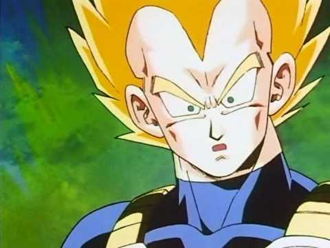 Vegeta realises that Future Trunks is his son - YouTube