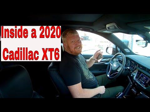 2020 Cadillac XT6 interior review