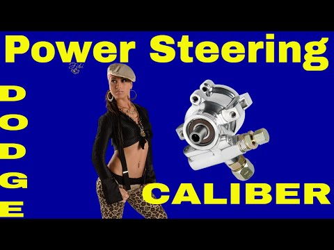 DIY Repair/Replace/Fix power steering pump on a Dodge Caliber/Jeep Compass 2007-2012- 2.0 4 cylinder