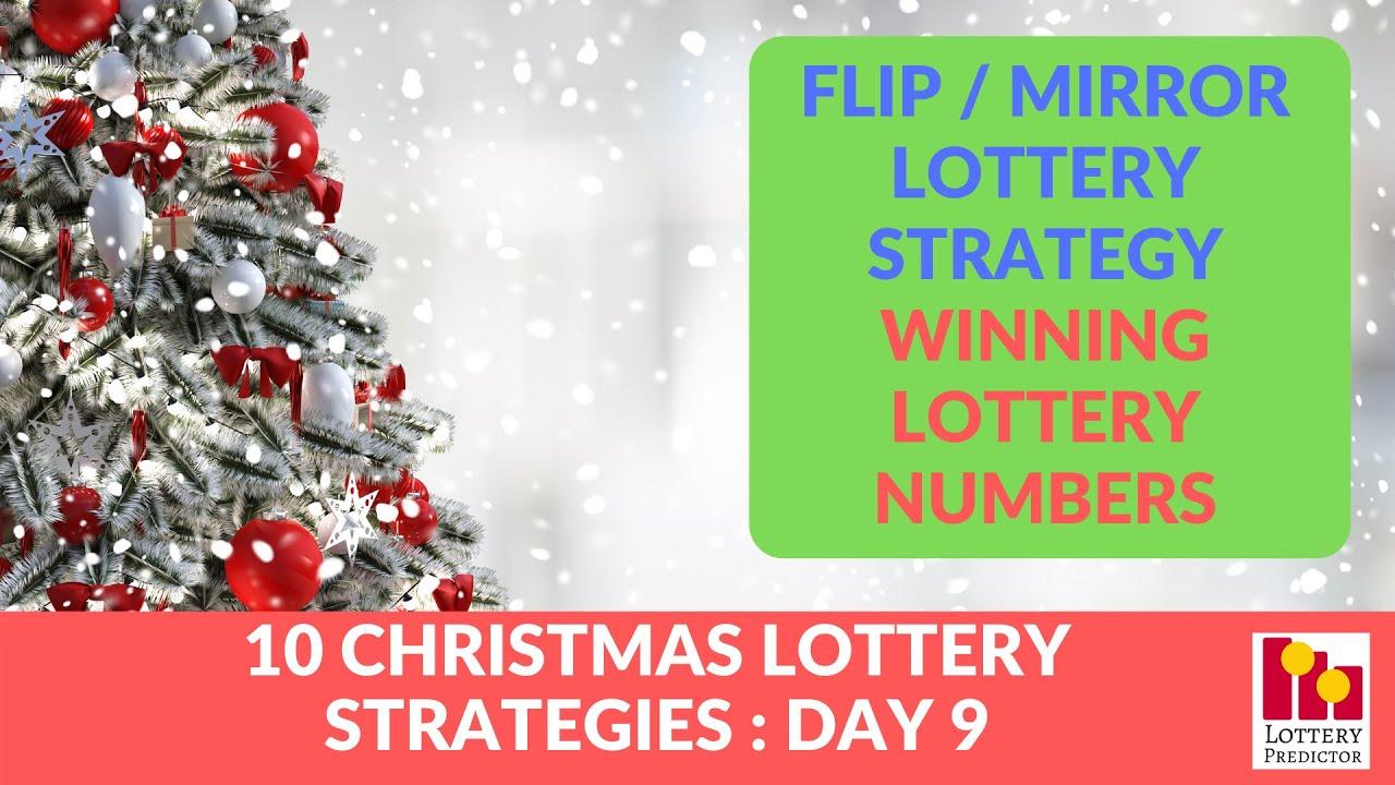 Flip Mirror Lottery Strategy Winning Lottery Numbers Youtube
