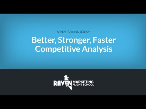 SEO: Competitive Analysis That's Better, Stronger, Faster