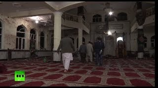 Grim aftermath: Over 60 dead in Afghanistan following suicide attacks at 2 mosques