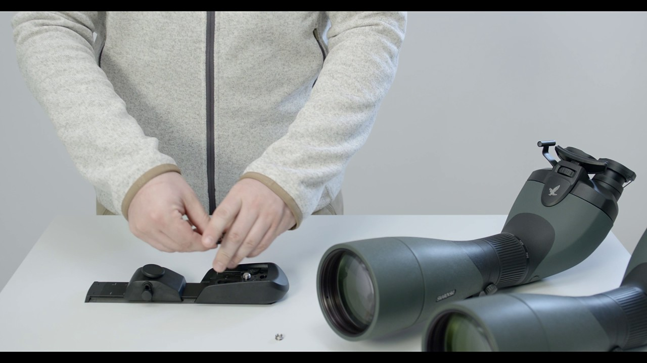 73883f65c Video Tutorial: BR balance rail - set up and mounting of SWAROVSKI OPTIK  spotting scopes