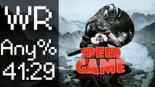 Speed Game - Skyrim - Fini en 41:29. Bob Lennon et RealMyop(Speed Game The Elder Scrolls V : Skyrim Fini en 41:29 06 Septembre 2014 L'équipe de Speed Game invite Bob Lennon afin de commenter une ..., 2014-09-08T10:09:51.000Z)