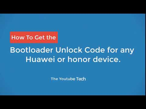 Unlocking the Bootloader : How to get the Unlock Code [Video]