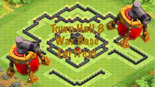 Clash of Clans | TH8 War/Trophy Base April 2015 Update | Fortress