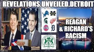 Reagan & Richard's RACISM!!! W/45.     #IADOS