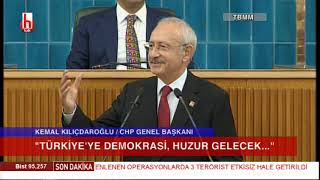 """CHP Grup Toplantısı 25 Haziran / Kemal Kılıçdaroğlu'ndan hodri meydan! """"Gidin YSK'ya..."""""""