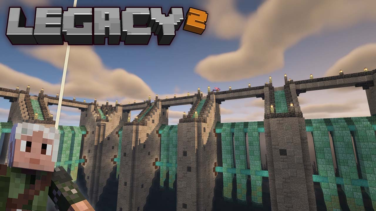 The Coolest Thing I've Ever Built - Finishing the Guardian Farm Mega-Build on Legacy SMP!