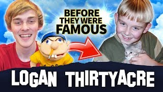 Super Mario Logan   Before They Were Famous   How Logan Thirtyacre Created Jeffy
