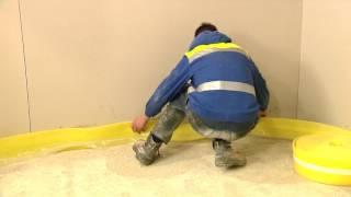Izolacija plivajućeg poda -cementna košuljica armirana mikrovlaknima