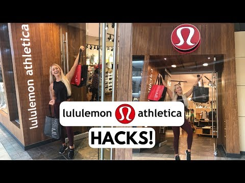 Tips & Tricks For Lululemon Shoppers!