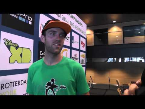 Interview with Sander about the UCI BMX Worlds track!