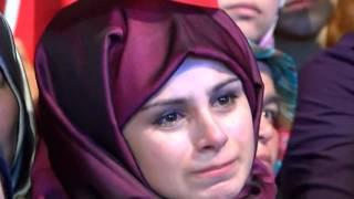 Astsubay Ömer Halisdemir'in babası Çekmeköy'de demokrasi nöbetine katıldı