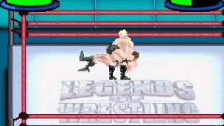 Legends of Wrestling II - GBA - Scott Steiner VS Bruno Sammartino
