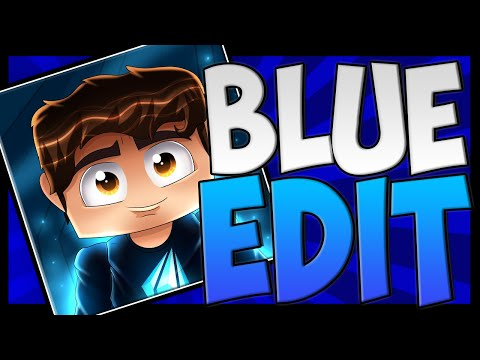 LandonMC BLUE TEXTURE PACK! Minecraft 1.8/1.9 Faithful Edit