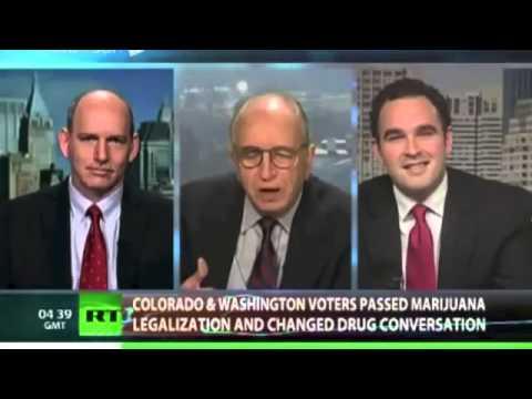 Kevin Sabet Debates on CrossTalk - Legally High