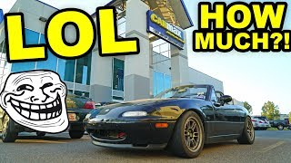 CarMax offered HOW MUCH for my track Miata?! LOL