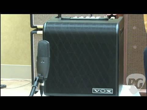 Video Review - Vox AGA70 Acoustic Guitar Amplifier
