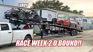 Prepping Ruby, Leroy AND the Dale Truck For a 1,500 Mile Road Trip/Race Week Adventure!!