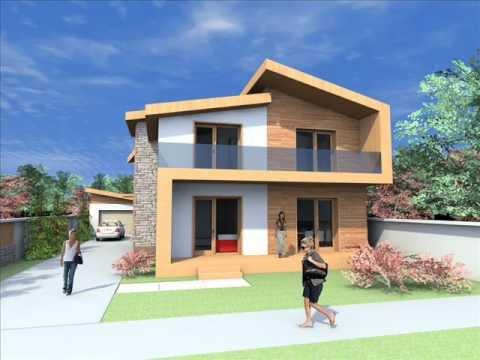 Proiect casa moderna casa moderna arad casa bucuresti for Case moderne