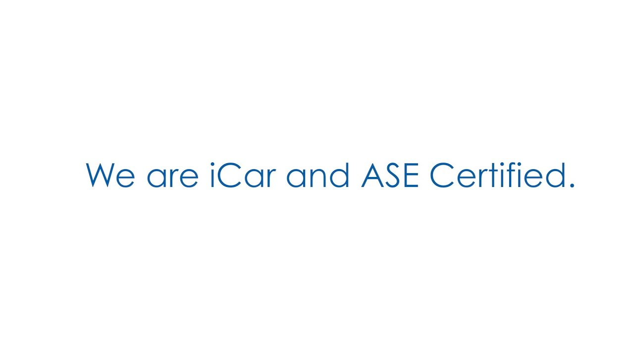 We Are Icar And Ase Certified Morries Auto Body Glass Repair