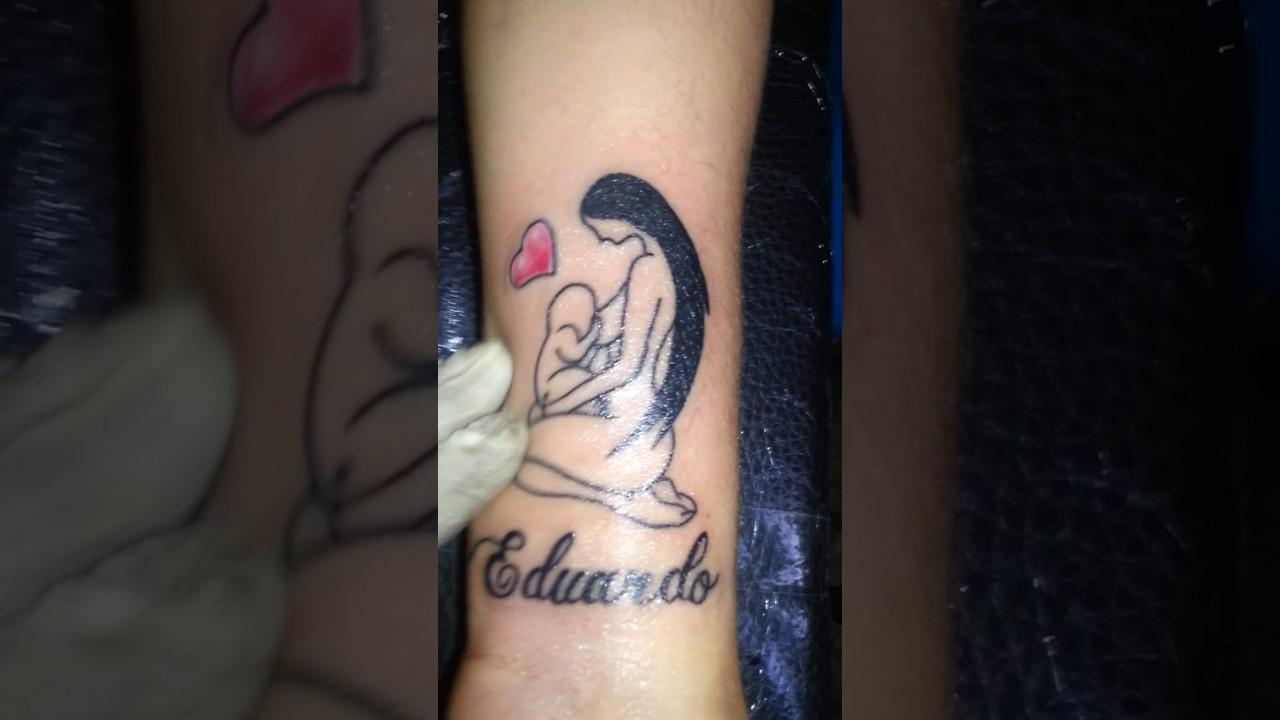 Mom Sign Vital Tattoo