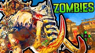 "BLACK OPS 4 ZOMBIES ""IX"" BOSS FIGHT (FULL EASTER EGG ENDING & REACTION)"
