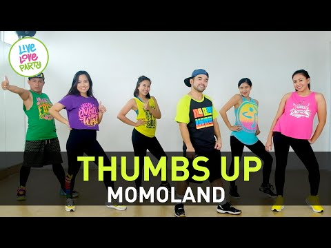 Thumbs Up By Momoland | Live Love Party™ Choreography By James | Zumba® | Dance Fitness