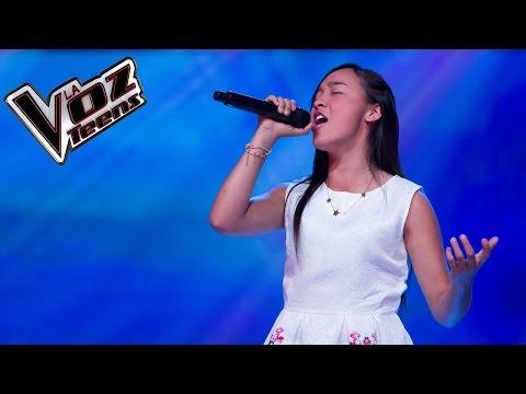 Laura canta 'Mujer de carne y hueso' | Audiciones a ciegas | La Voz Teens Colombia 2016