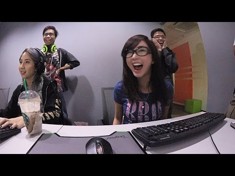 League Of Legends NOOB Alodia & Ashley + Office Tour