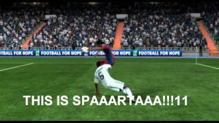 FIFA 11 Приколы и голы