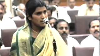 N. Lakshmi Parvathi (8) - Dr. Marri Channa Reddy, Condolence Motion In AP Assembly Dec 9, 1996