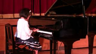 2012 Eliza's Piano Recital -my Grandfather's Clock 大きな古時計