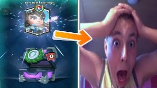 kid goes insane after unlocking the best legendary card in clash royale