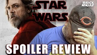 Star Wars The Last Jedi Sucked Movie Review with Spoilers