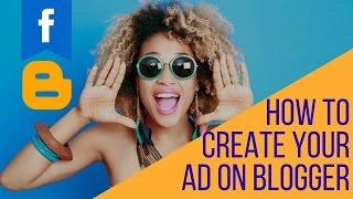 كيفية إنشاء إعلانك على مدون