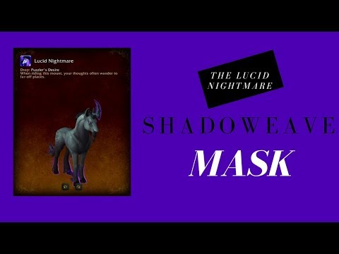 how to get shadoweave mask