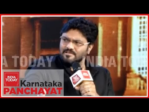 Babul Supriyo: 'Fighting Half-Truths About Hinduism In Bengal' | India Today K'taka Panchayat